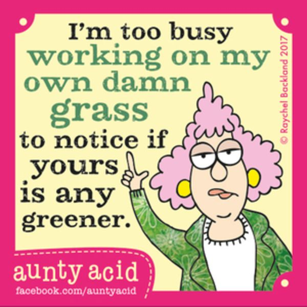 Aunty Acid for 7/25/2017