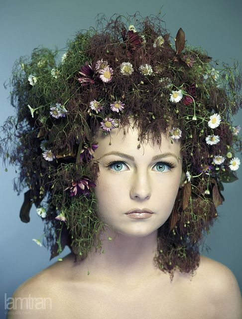 Earth or Sea elf fairy forest mermaid HAIR -- Indy Scarletti