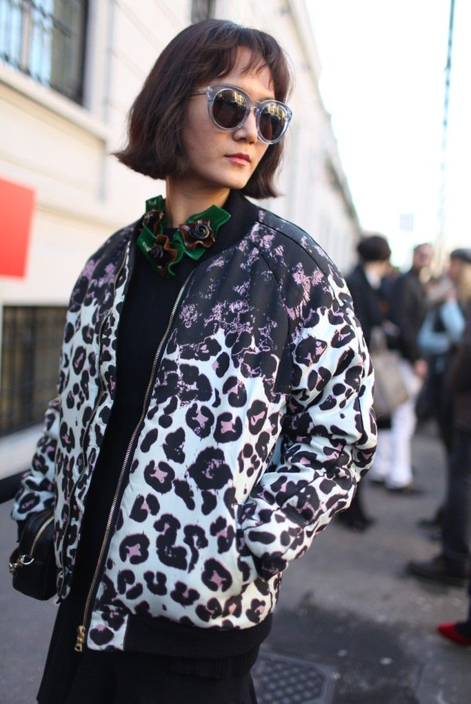 Milan Fashion Week street style.