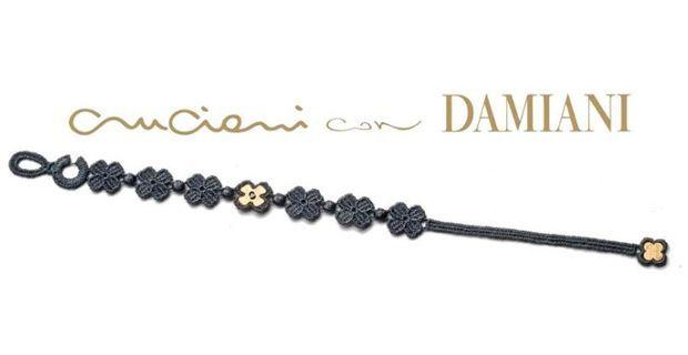 I nuovi @Braccialett0Cruciani creati in collaborazione con Damiani... e il macramè diventa prezioso! ^.^