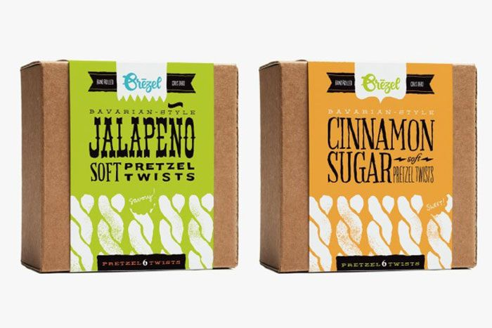 Great color and typography on these packages.