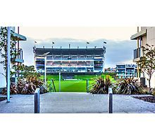 The Dead Footy End Photographic Print