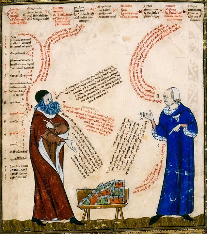 "medievalautumn: ""What a stunning design layout! @DamienKempf The Art of Conversation (St Peter Perg 92) """