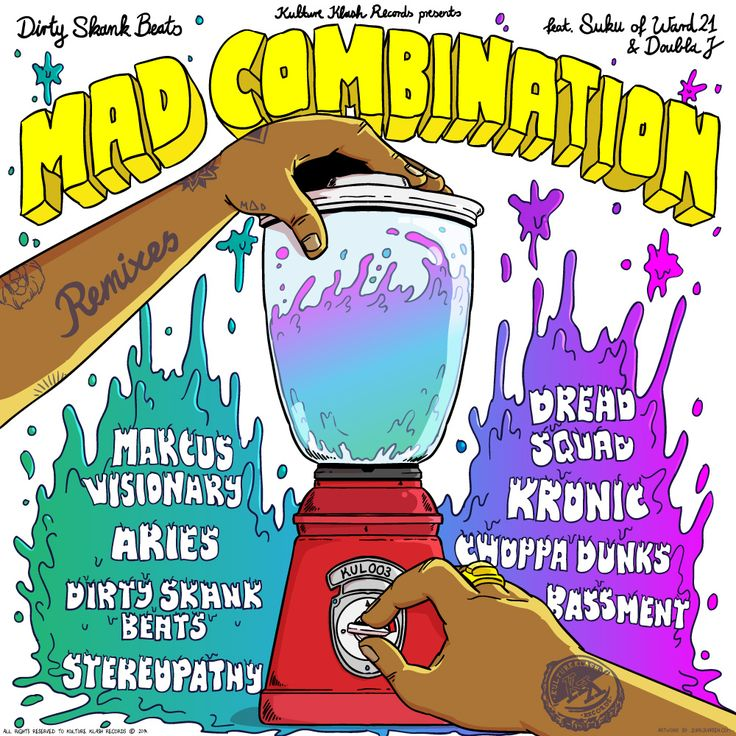 Review: Mad Combination Remixes EP Feat. Suku of Ward 21 & Doubla J