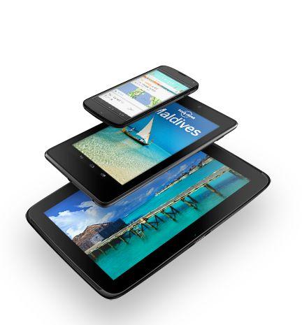 Pengumuman Resmi Google Nexus 4, 7, 10