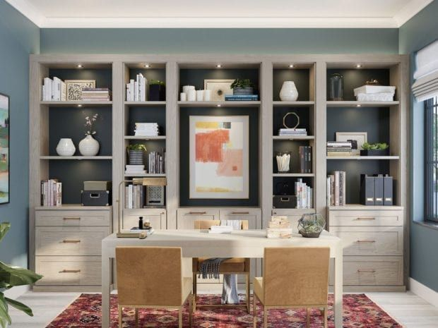 Custom Home Office Built Ins Cabinet Storage Office Storage