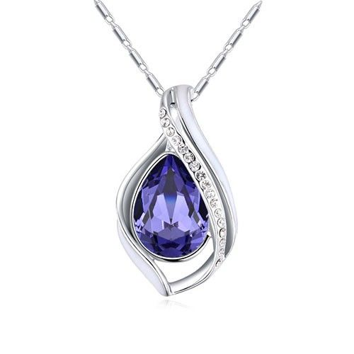 $12,55 Diana's tear Swarovski crystal necklace - Yohanna Jewelry Wholesale. BEST PRICE: Directly in the jewelry factory. VAT-free shopping: Available, partners based in the European Union, only applies to EU tax identification number (UID). Exclusive design SWAROVSKI crystals and AAA Zircon crystal jewelry and men's stainless steel jewelry and high-quality stainless steel jewelry for couples sell in bulk to resellers! Please contact us.