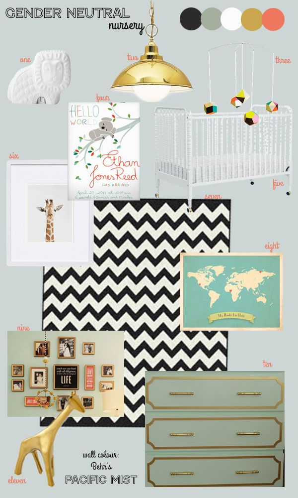 33 Best Images About The Gender Neutral Nursery On