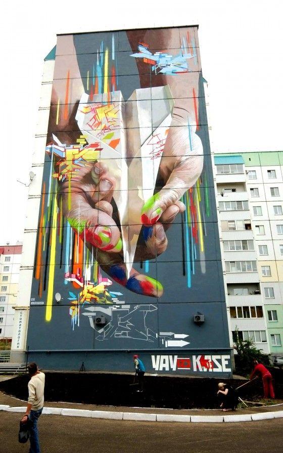 Case - Ma'claim Crew - Graffiti artist tedesco dallo stile iperrealista