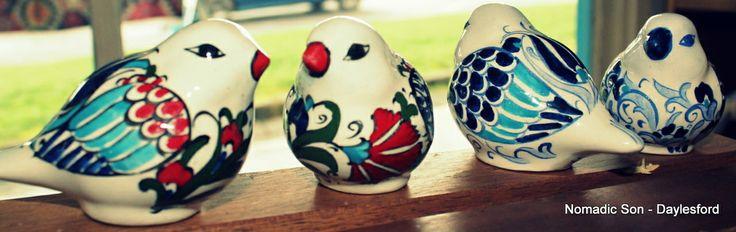 NOMADIC SON  - Mini ceramic sparrows, $10.00 (http://www.nomadicson.com.au/mini-ceramic-sparrows/)