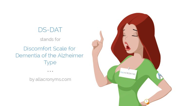 Discomfort Scale for dementia of the Alzheimer's type (DS-DAT) - Buscar con Google
