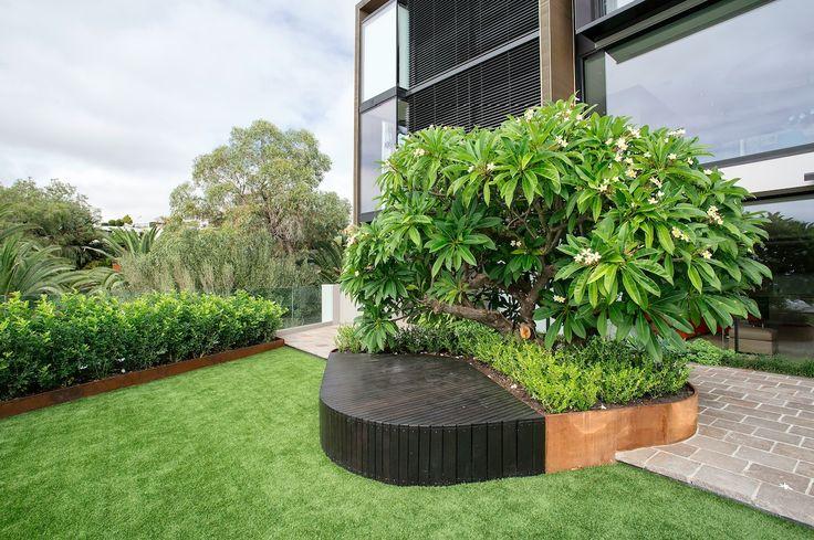 Best Special Feature - Built Feature Finalist - Tim Davies Landscaping - Project Mosman Park Seat
