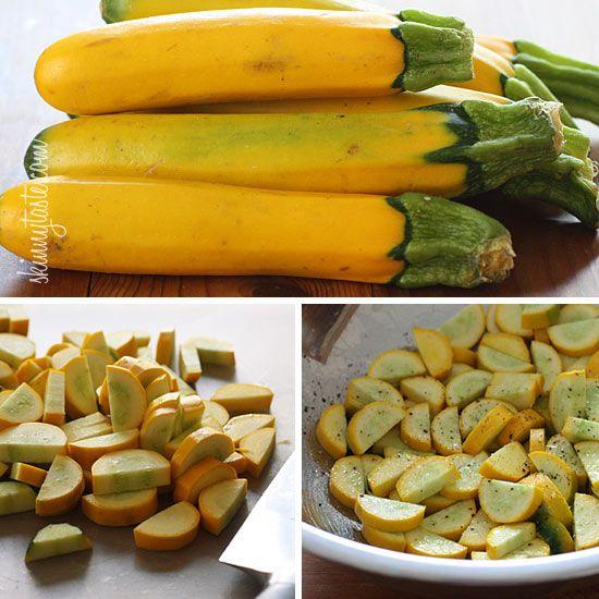 Roasted Yellow Squash | Skinnytaste