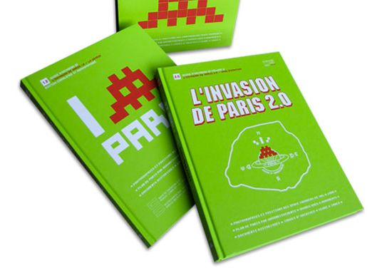 catalogues Space invader - I (invader) Paris et L'invasion de Paris 2.0
