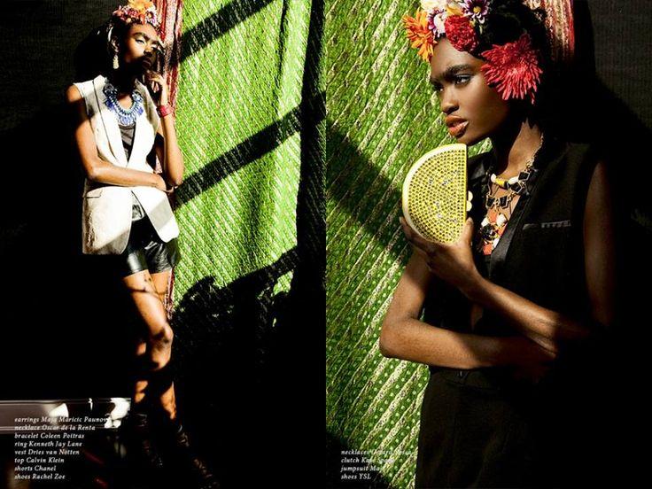 Modo Magazine Photography by Alkan Emin Makeup and Hair: Natalia Zurawska Styling: Vanessa Sanchez Model: Kayla