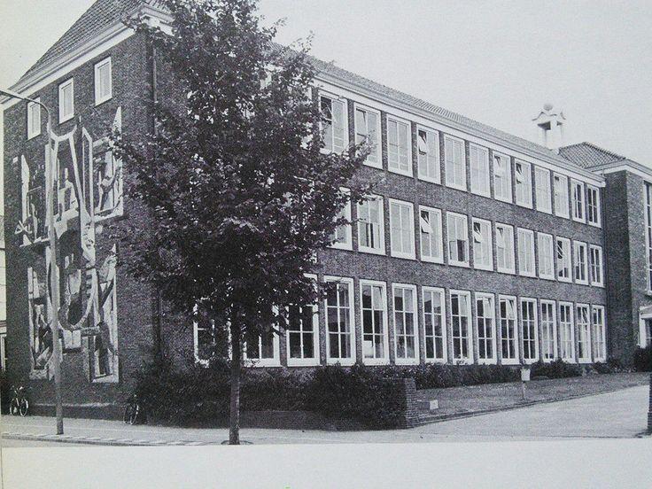 Het Marnix College in Ede, 1984.