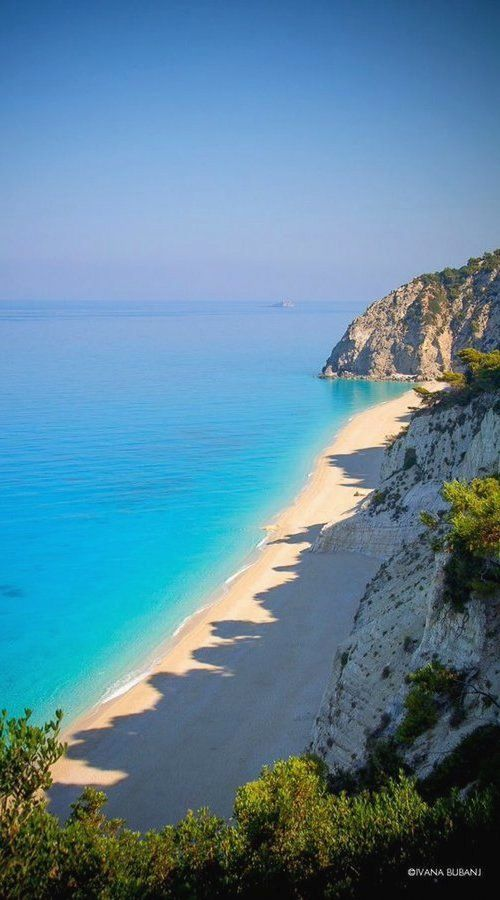 Egremni Beach, Lefkada Island, Ionian Sea, Greece