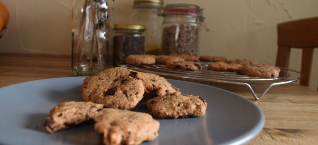 Bombastisches Soulfood : American Chocolate Chip Cookies (Vegan)