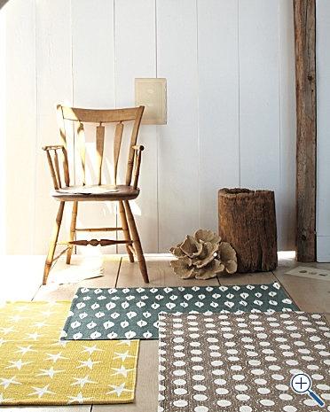 garnet hill printed cotton rugs. $48: Printed Cotton, Back Doors, Garnet Hill, Layered Rugs, Bathroom Rugs, Cotton Rugs, Curtains Rugs, Hill Rugs, Master Bathroom