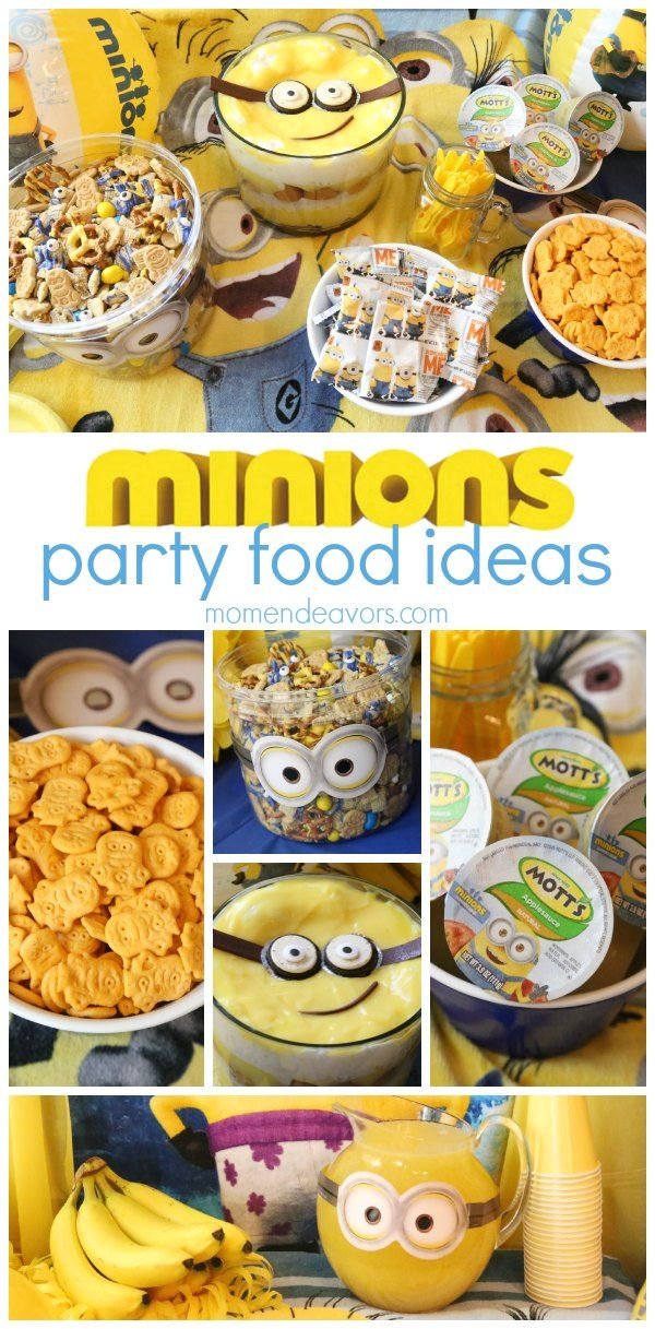 Minions Party Food Ideas