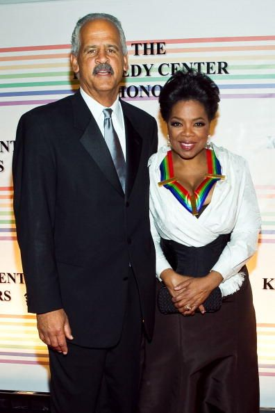 Oprah Winfrey and Stedman Graham- never married... often suspect for many reasons, but at least their friendship has stood the test of time