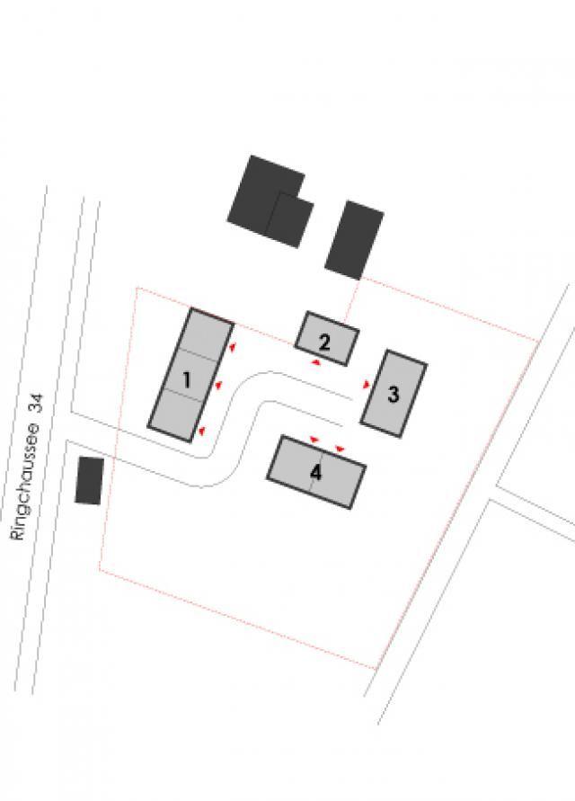 Vierseitenhof Burg Spreewald | Michels Architekturbüro Ferienhäuser in Holzbauweise Lageplan