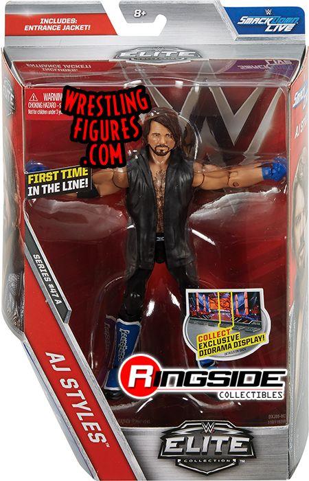 AJ Styles - WWE Elite 47 WWE Toy Wrestling Action Figure