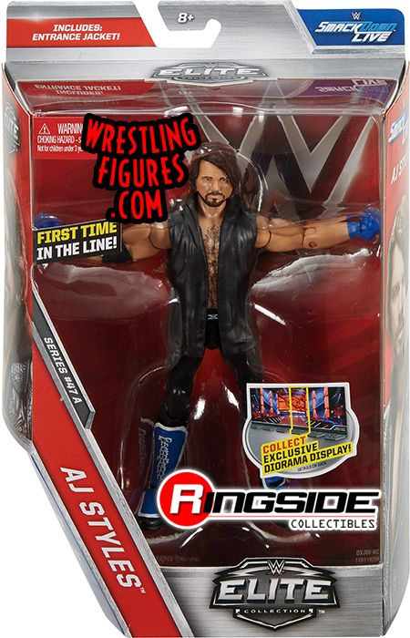 AJ Styles - WWE Elite 47 WWE Toy Wrestling Action Figure