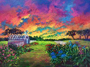 Painting - Morning Light   New Beginnings by Randol Burns