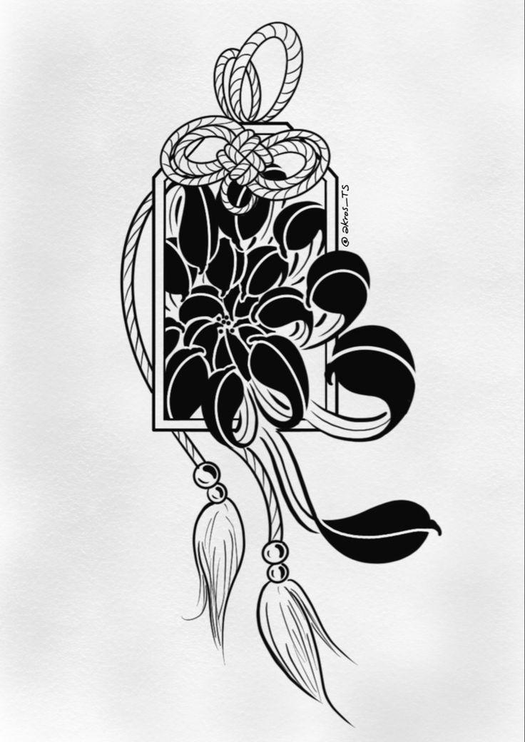 Blk chrysanthemum japanese tattoo designs japanese