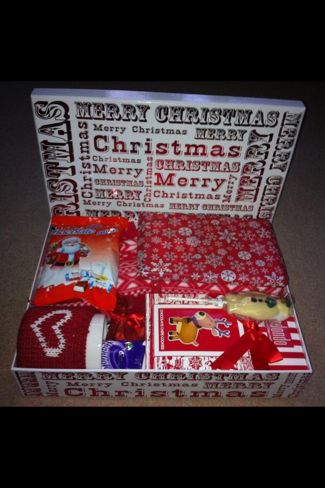 Christmas Eve box for my daughter Jess :) | Diy christmas gifts for kids