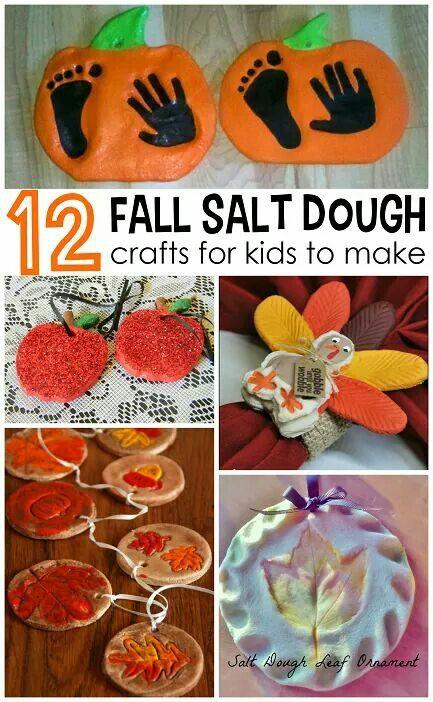 http://www.craftymorning.com/salt-dough-ornaments-craft-ideas-for-fall/