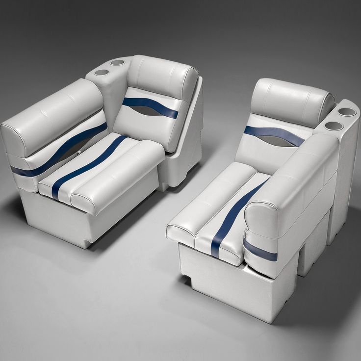 Plush, Pillowed Pontoon Furniture With Quality Double Top Stitching For  That New Boat Look. Our Pontoon Seats Will Last!