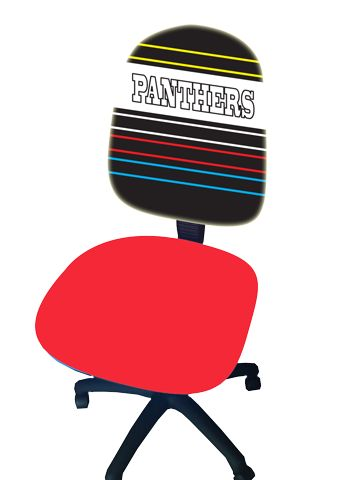 Panthers design. FREE DELIVERY!!