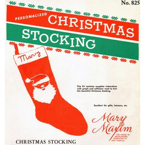 Knitted Christmas Stocking Pattern Books : 17 Best images about Knit patterns on Pinterest ...