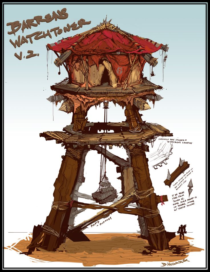 WoWx3 Horde Tower v2 by brianhuang