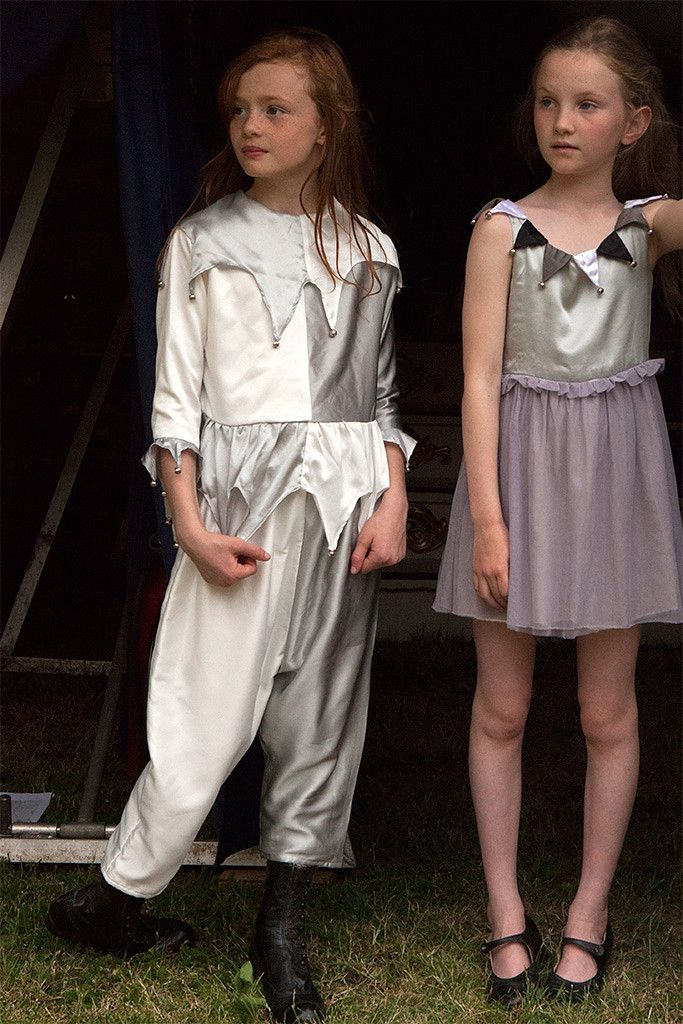 Dress up Jester suits from Petite Pearl Lowe for fall/winter 2015 kidswear