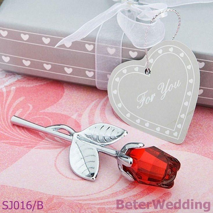 Rode roos gunsten sj016/b bruiloft gunst, partij gift, bruiloft souvenir geschenken @Sarah Chintomby Sproxton beter co ltd