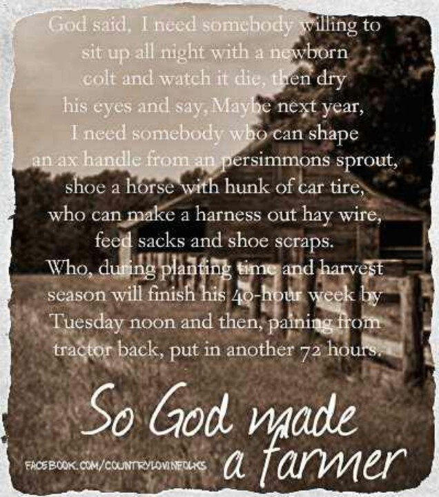 Farm Life Quotes And Sayings. QuotesGram
