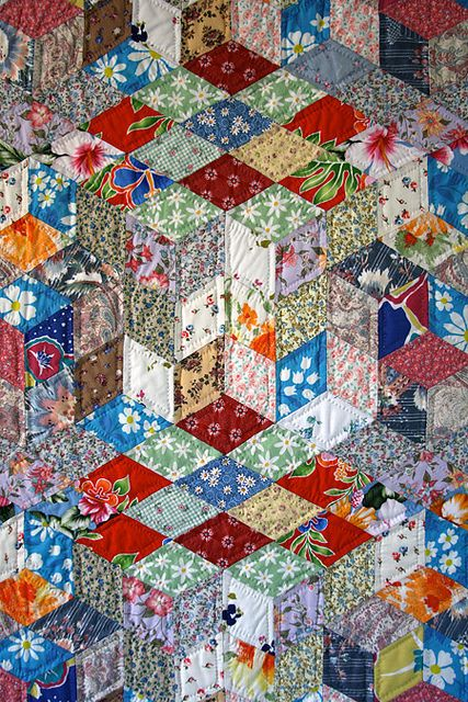 302 best Quilts & blocks - diamonds. images on Pinterest ... : diamond quilts - Adamdwight.com
