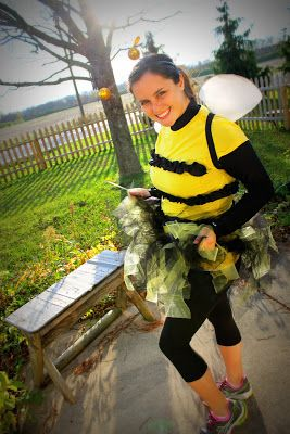 Halloween Running costume - bee