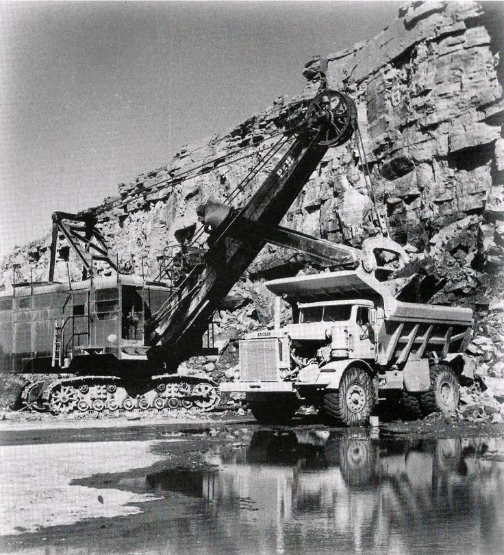 Huron Portland Cement : Best images about mining equipment on pinterest
