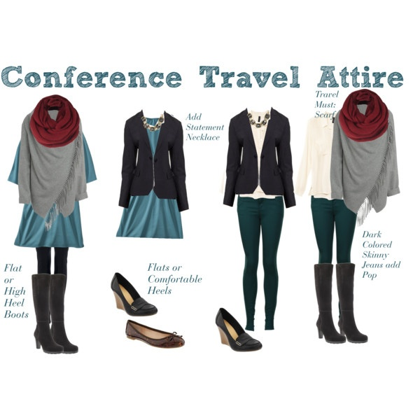 """""""Travel to Conference Set"""" by boardroombelles on Polyvore"""