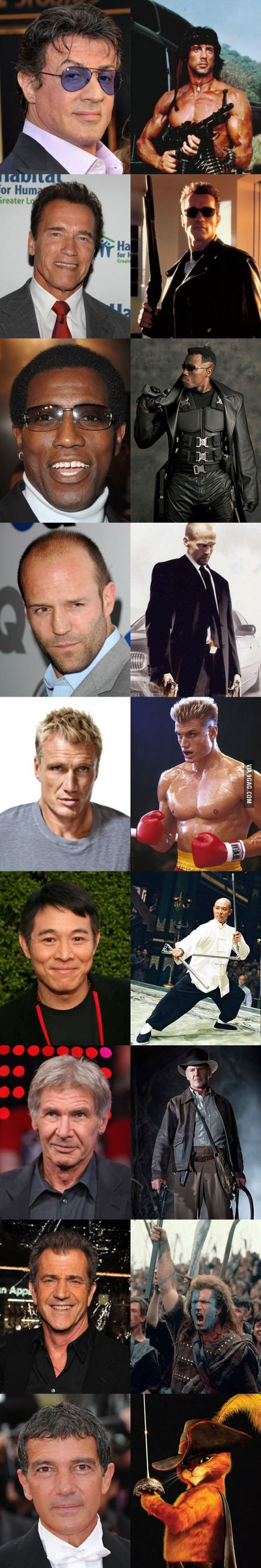 the expendables cast and their past characters