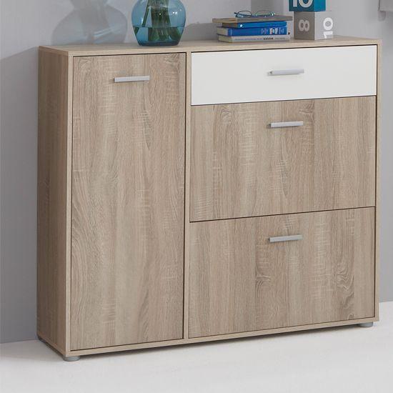 Bozen4 hallway canadian oak shoe cabinet storage for Foyer cabinet ideas