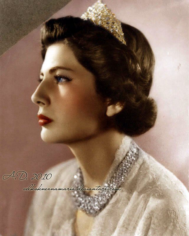 Princess Soraya of Iran (Queen consort 1951-1958): Queen Saroya, second wife of the Shah of Iran.  He was forced to divorce her since she could not have children.  He announced the news in tears.