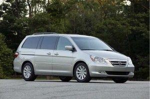 2007 Honda Odyssey -husband hated.  My kids called it the Rally Van.