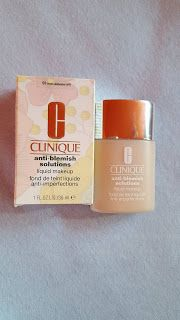 Elisabeth's Blog: Clinique Anti-blemish Solutions ( liquid makeup )
