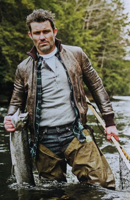 Rugged and manly, I like it ;)