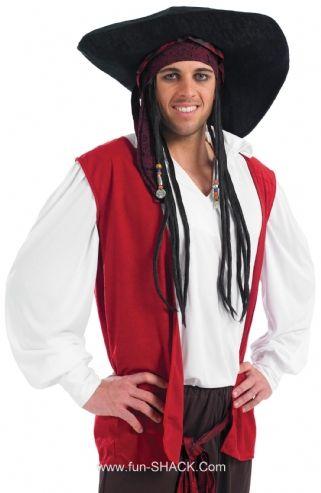 Pirate Fancy Dress Costume Fun Shack